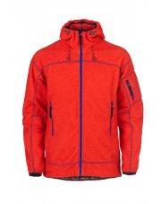 Bluza polarowa męska Iryo/czerwona