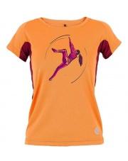 Koszulka damska CHE LADY orange/burgund