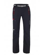 Spodnie trekingowe Milo Vino lady/czarne czerwone zamki