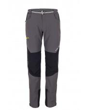 Spodnie Trekingowe Milo Tacul Szare-żółty zamek