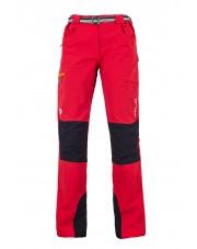 Damskie spodnie trekingowe Milo Tacul lady/czerwone