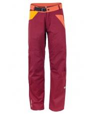 Spodnie wspinaczkowe Milo Toffo /bordowe