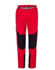 Spodnie trekingowe Milo Brenta/czerwone