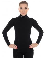 Bluza damska EXTREME WOOL Brubeck/czarna