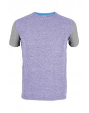 Koszulka męska Milo Lasho/dark violet-periscope