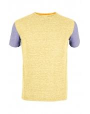 Koszulka męska Milo Lasho/yellow apple-dark violet