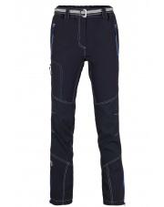 Spodnie trekingowe damskie Milo Atero lady/black-dark grey