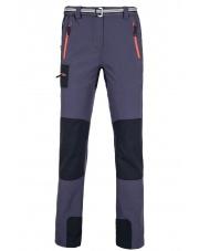Spodnie trekingowe damskie Milo gabro lady/periscope grey-dark grey