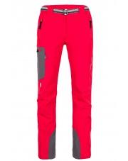 Spodnie trekingowe damskie Milo Vino lady/tomato red-grey