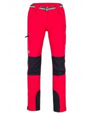 Spodnie trekingowe damskie Milo Tacul lady/tomato red-black