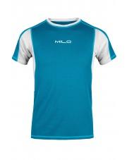 Koszulka męska Milo Tolga/turquoise-light grey