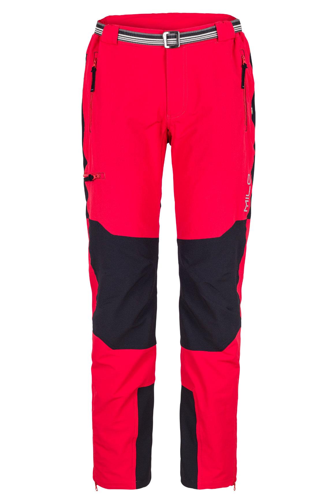 Spodnie Trekingowe Milo Brenta czerwone Sklep Górski BROAD