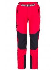 Spodnie Trekingowe Milo Brenta czerwone