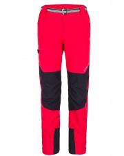 Spodnie Trekingowe Męskie Milo Tacul Czerwone