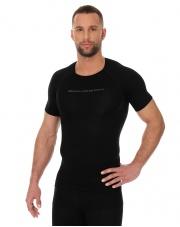 Koszulka męska 3D Bike PRO z krótkim rękawem/czarna