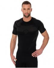 Koszulka męska DRY z krótkim rękawem czarny/grafit