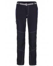 Spodnie trekingowe męskie Milo Atero/ black-dark grey