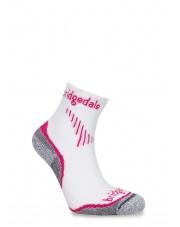 Skarpety Bridgedale CoolFusion Run Qw-ik Lady - dusky pink