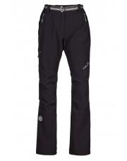 Damskie spodnie trekingowe Milo Juuly lady-czarne