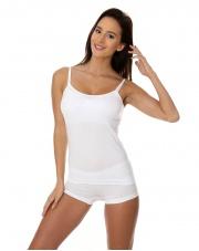 Koszulka damska CAMISOLE COMFORT COTTON biała