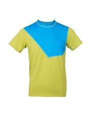 Koszulka męska Milo NIWALI mirabelle/blue