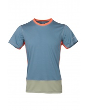 Koszulka męska VADI spruce blue/olive green