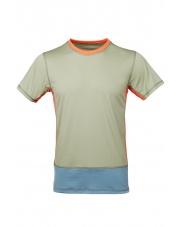 Koszulka męska VADI olive green/spruce blue