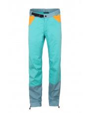 Spodnie wspinaczkowe Milo JULIAN turquoise/blue sea