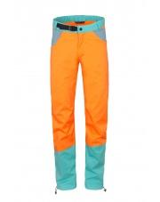 Spodnie wspinaczkowe Milo JULIAN orange/turquoise