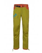 Spodnie wspinaczkowe POHA dark green/brick