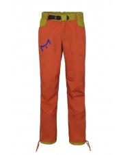 Spodnie wspinaczkowe POHA brick/dark green