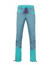 Spodnie wspinaczkowe damskie Julian blue sea/turquoise