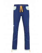 Spodnie wspinaczkowe damskie VELIM LADY jeans blue/turquoise