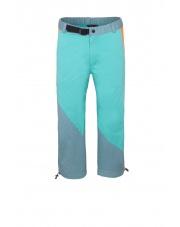 Spodnie wspinaczkowe JULIAN 3/4 turquoise/blue sea