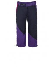 Spodnie wspinaczkowe ZOVEE 3/4 periscope grey/dark violet