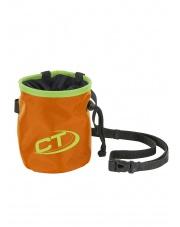 Klasyczny woreczek na magnezję Climbing Technology Cylinder - orange