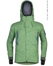 Ocieplana kurtka membranowa BRUX green textured