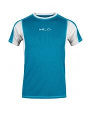 Koszulka męska TOLGA turquoise/light grey