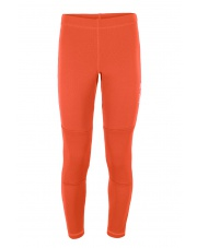 SPODNIE POLAROWE  GEO PANTS orange/grey