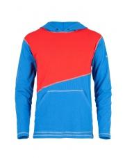 Bluza męska ASKLEV blue/red