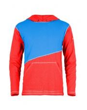 Bluza męska ASKLEV red/blue