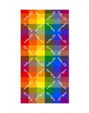 CHUSTA WIELOFUNKCYJNA SCARF rainbow