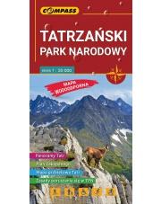 Mapa laminowana Tatrzański Park Narodowy