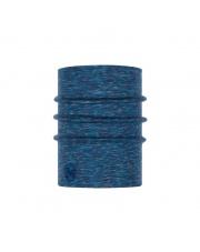 Komin Buff Heavyweight Merino Wool LAKE BLUE MULTI STRIPES