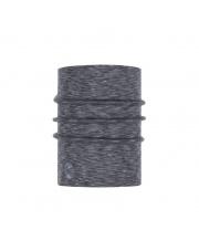 Komin Buff Heavyweight Merino Wool FOG GREY MULTI STRIPES