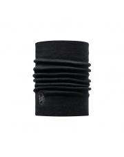 Komin Buff Heavyweight Merino Wool SOLID BLACK