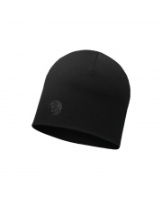 Czapka Buff Heavyweight Merino Wool Hat SOLID BLACK