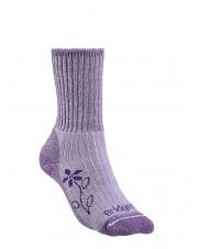 Skarpety damskie Hike Mid Merino C - violet