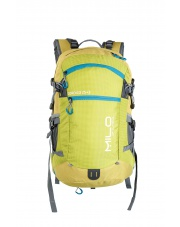 Plecak Milo Coroico 25+3 L lime green/ocean blue