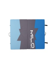 CRASH PAD MILO blue/light blue/black